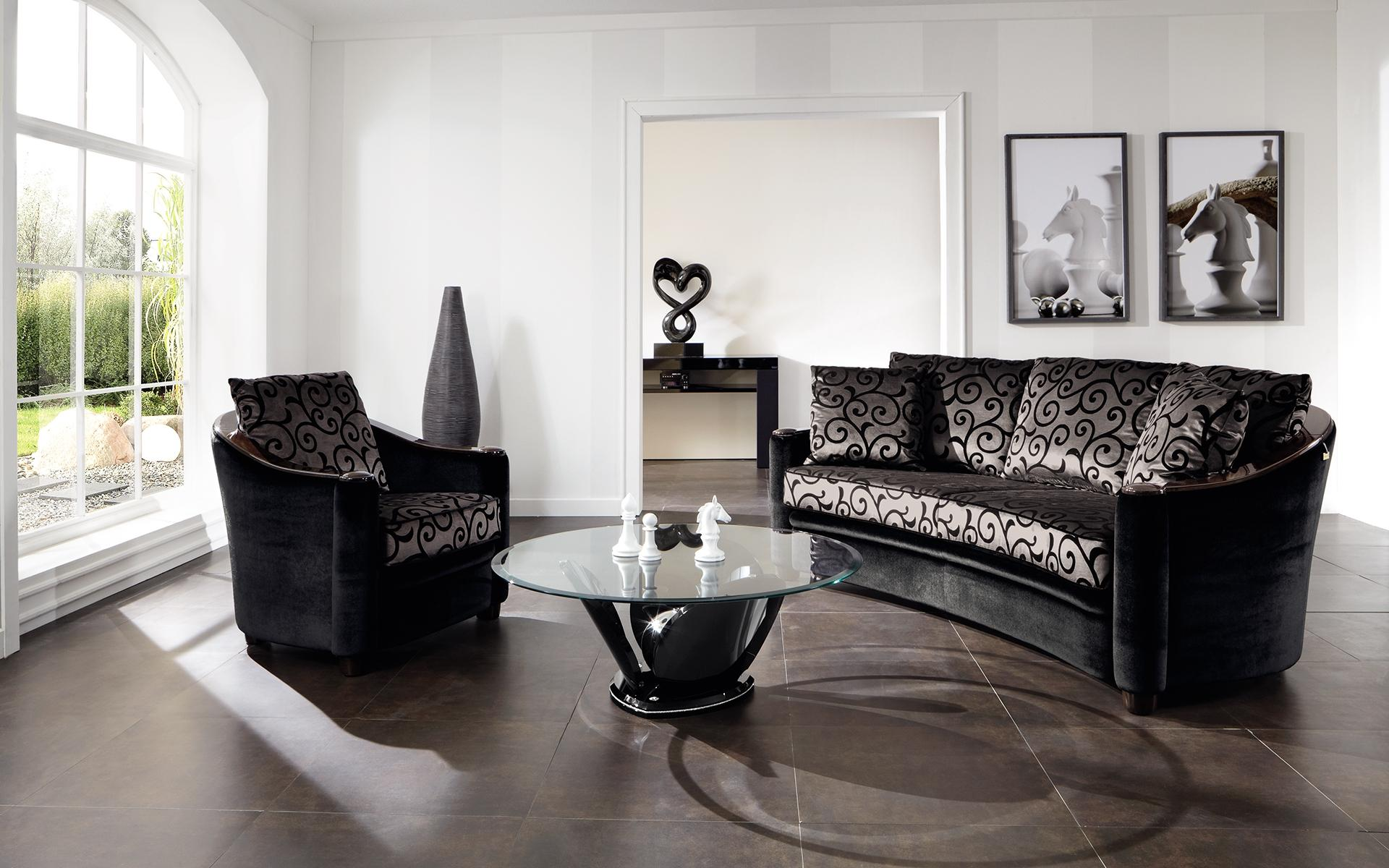 halbrund sofa metropolitan finkeldei polsterm belmanufaktur. Black Bedroom Furniture Sets. Home Design Ideas