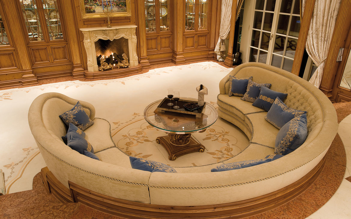 Beautiful Upholstered Furniture For The Villa