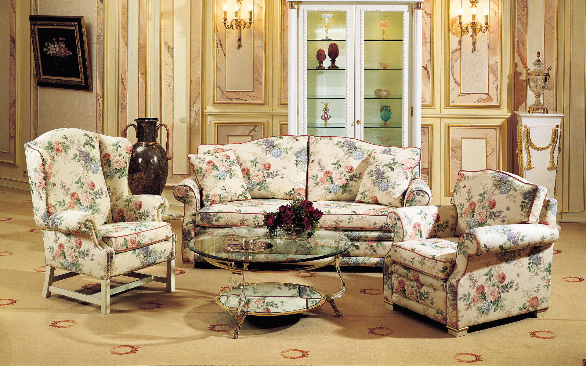 Ructic Upholstered Suite London