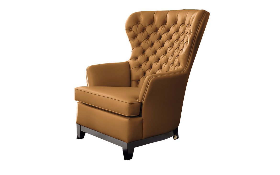 Modern wing back chairs