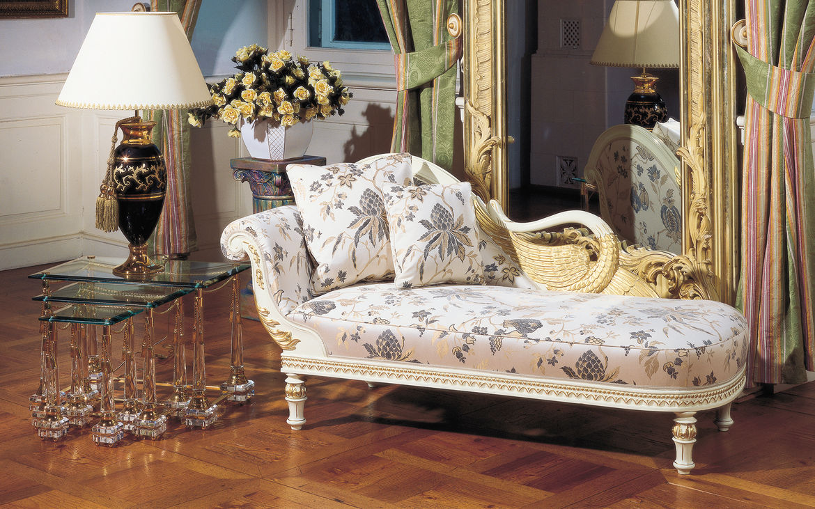 Classic Chaise Longue Luxor : classic chaise - Sectionals, Sofas & Couches